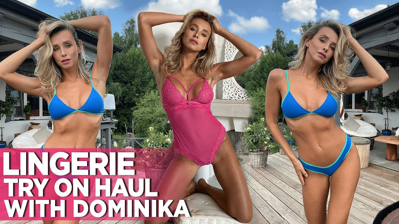[Watch On Mobile!] A Very Sexy Wicked Weasel Lingerie Try On Haul Video Ft. Dominika From Prague