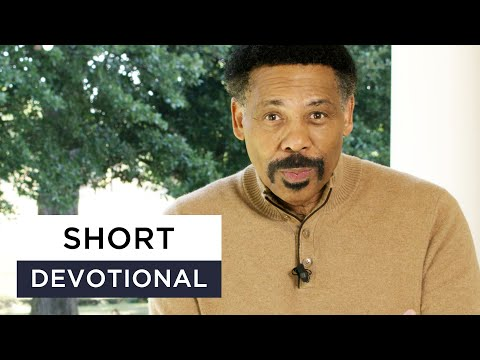 God is in Control - Tony Evans Devotional
