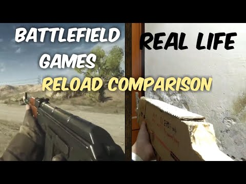 Battlefield Games Secret Reloading Animations in Real life!!
