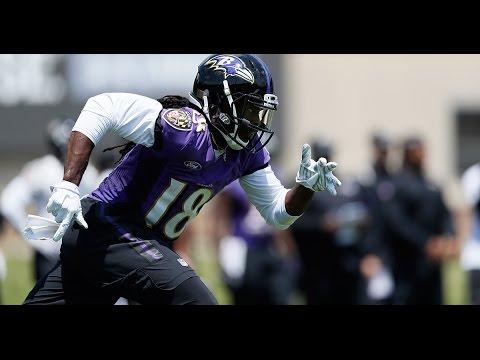 First Look: Breshad Perriman Practice Highlights   Baltimore Ravens