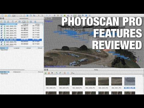 Agisoft PhotoScan Pro vs Standard Feature Overview - UC_LDtFt-RADAdI8zIW_ecbg