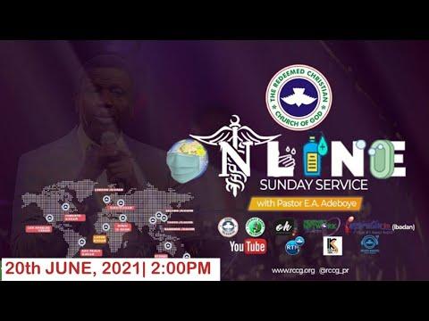 RCCG JUNE 20th 2021  PASTOR E.A ADEBOYE SPECIAL SERVICE