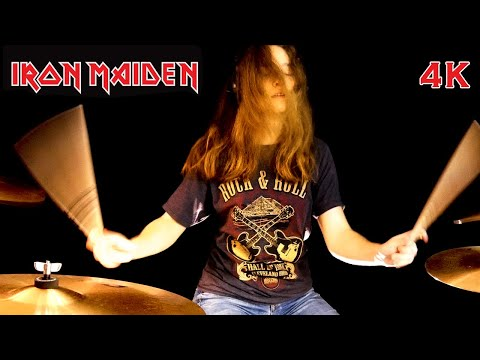 Hallowed Be Thy Name (Iron Maiden); drum cover by Sina - UCGn3-2LtsXHgtBIdl2Loozw
