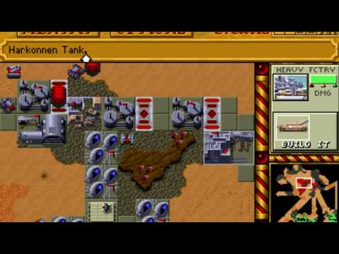 Dune II: The Building of a Dynasty (Harkonnen: Mission 6) (Westwood) (MS-DOS) [1992] [PC Longplay]