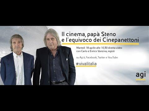 #vivalitalia con Carlo e Enrico Vanzina