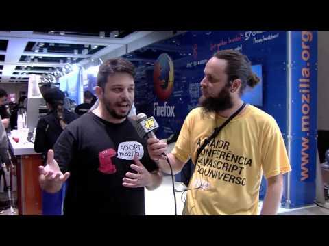 Entrevista BrazilJS 2016 - Mozilla