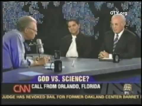 God vs. Science (Larry King Live with John MacArthur)