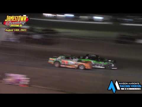 Jamestown Speedway WISSOTA Street Stock A-Main (8/14/21) - dirt track racing video image
