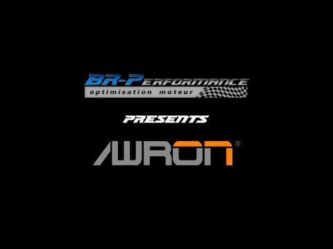 Awron display on BMW M3 By BR-Performance