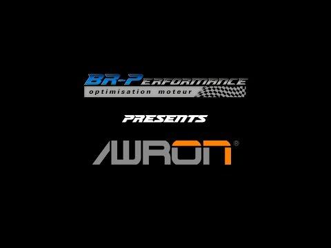 Awron display on BMW M3 By BR-Performance