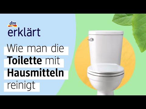 Toilette mit Hausmitteln reinigen - dm erklärt