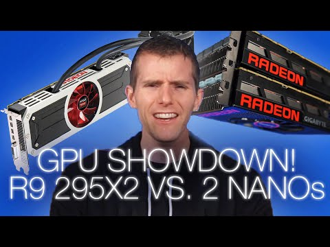 Multi-GPU Showdown: R9 295X2 vs. Two R9 Nanos - UCjTCFFq605uuq4YN4VmhkBA