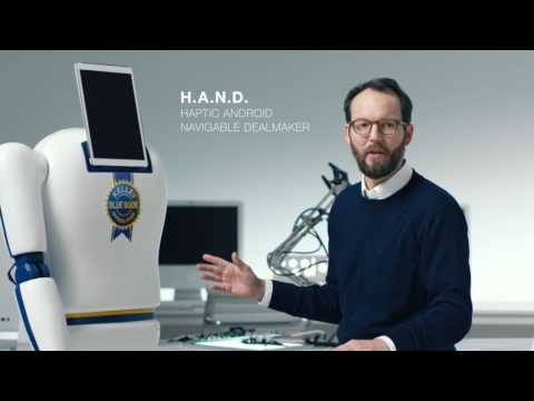 H.A.N.D. (Haptic Android Navigable Dealmaker) Reveal