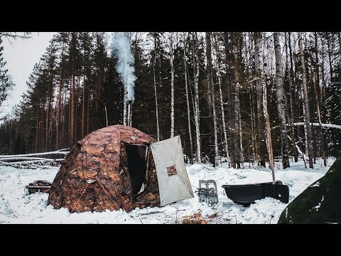 3 Day Solo Expedition To The GULAG - Wolf Country Camp 2020