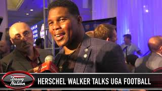 Herschel Walker talks on Georgia football, Alabama and D'Andre Swift