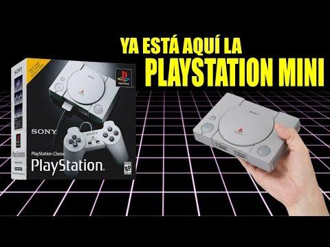 PLAYSTATION CLASSIC, LA PSX MINI QUE ESTABAS ESPERANDO