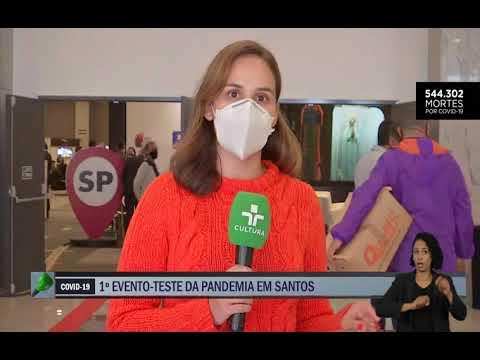 Repórter Cultura | 1° evento teste com público em São Paulo acontece em Santos