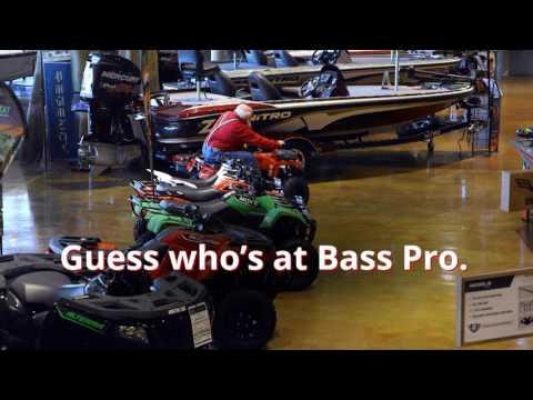 Santa Testing an ATV | Santa's Wonderland | Bass Pro Shops