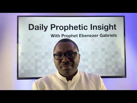 Prophetic Insights - December 17, 2020