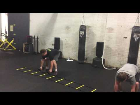 Group agility and strength training