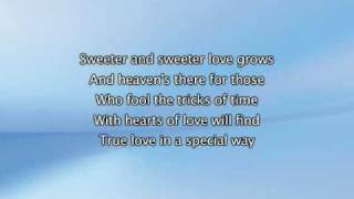 The Closer I Get To You Feat Luther Vandross, Lyrics In Video