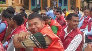 RFA NUMBER1  NEWS,At Wat Ang Ta manh hearing about traffic law