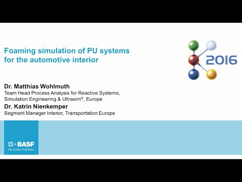 Foaming simulation of PU systems for the automotive interior