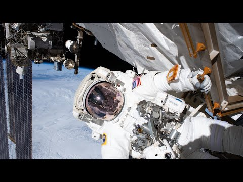 Spacewalk to Repair Alpha Magnetic Spectrometer Outside International Space Station on Jan. 25, 2020