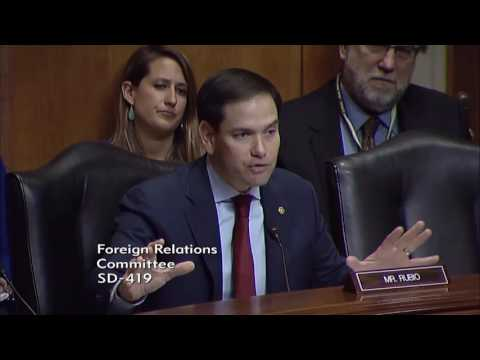 In Venezuela hearing, Rubio & witnesses stress importance of OAS invoking Democratic Charter