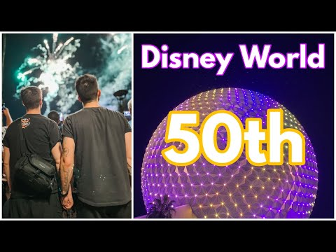 Disney's 50th Anniversary Trip | Chris & Clay