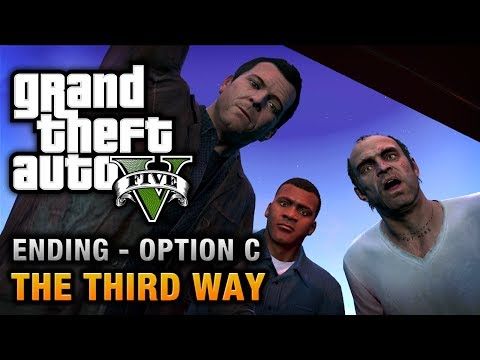 GTA 5 - Ending C / Final Mission #3 - The Third Way (Deathwish) - default