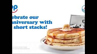 ICYMI: IHOP offering $.58 pancakes for its birthday