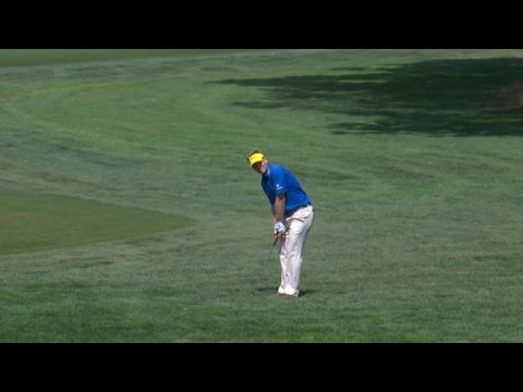 Billy Hurley III?s masterful chip-in for birdie at The Barclays