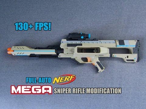 FULL-AUTO MEGA NERF SNIPER RIFLE [Rival Zeus Sniper Rifle]