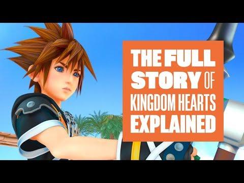 The complete story of Kingdom Hearts - Let's Get ready for Kingdom Hearts III - UCciKycgzURdymx-GRSY2_dA