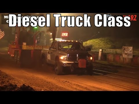 Diesel Truck Class At TTPA Truck Pulls In Mayville MI 2018
