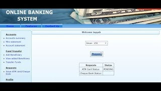 Online Banking Management System Full Project With Source Code