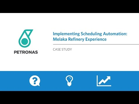APS/MBO Case Study - Implementing Scheduling Automation: The Melaka Refinery Experience