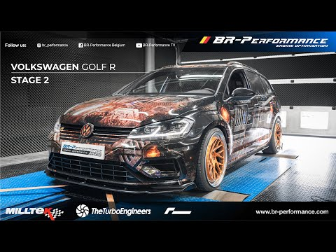 Volkswagen Golf R - Turbo Failure? / Stage 2 By BR-Performance / The Turbo Engineers / ENG/FR Subs