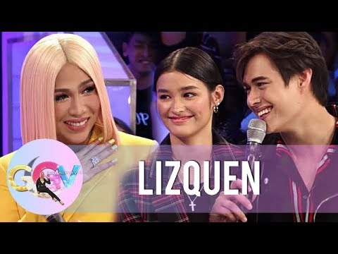 GGV: LizQuen officially confirms their relationship in Kuryentanong challenge