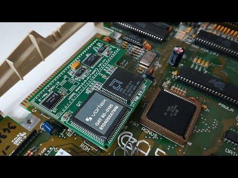 Quick Test - Vortex ATonce IBM AT emulation (Amiga 500)