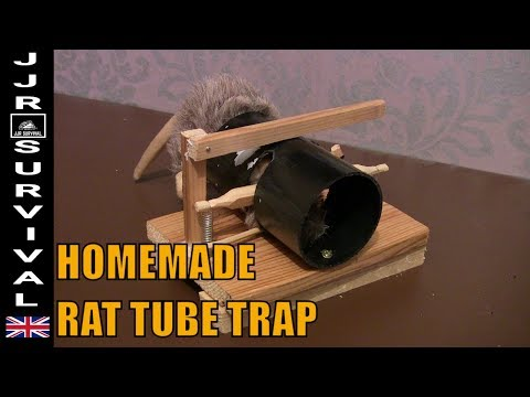 Homemade Rat Tube Trap