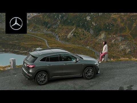 Martina Bisaz in the Swiss Alps | She's Mercedes