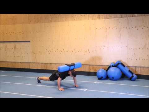 Warrior Stand Burpee with Hydrovest®
