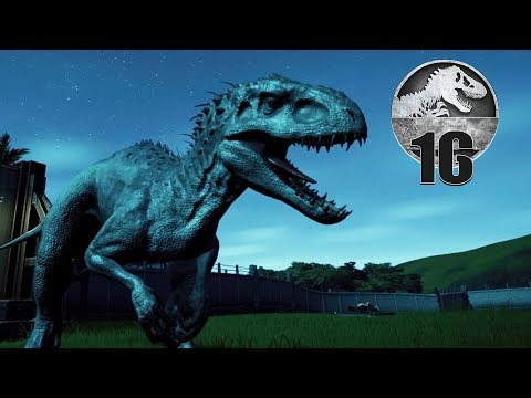 Jurassic World Evolution - Part 16 - HATCHING AN INDOMINUS REX