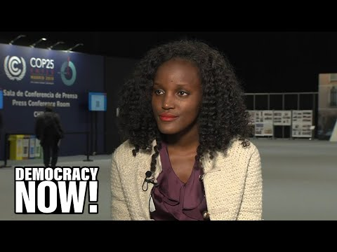 Uganda's First Fridays for Future Climate Striker, Vanessa Nakate, Joins COP25 Protests in Madrid