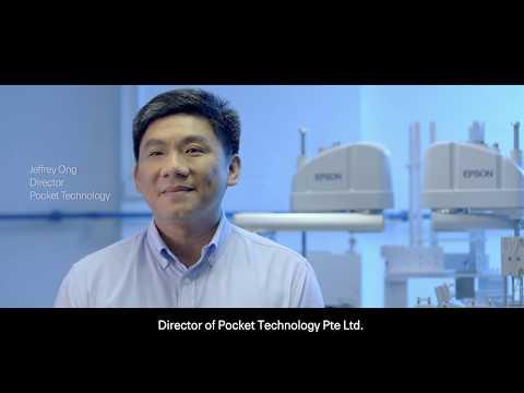 Epson Robots Customer Story: Pocket Technology (Eng subs)
