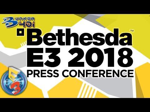 Conferencia Bethesda E3 2018 : Bethesda Streaming en diferido