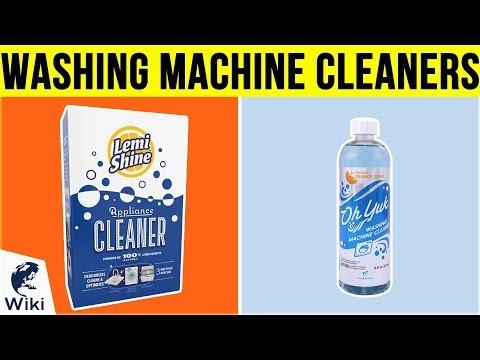 10 Best Washing Machine Cleaners 2019 Dr Kotb