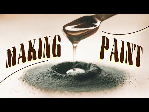 MAKING PAINT   unintentional asmr & speedpaint ?